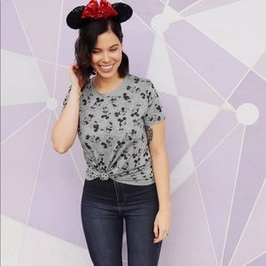 XS Disney Top Black & Grey